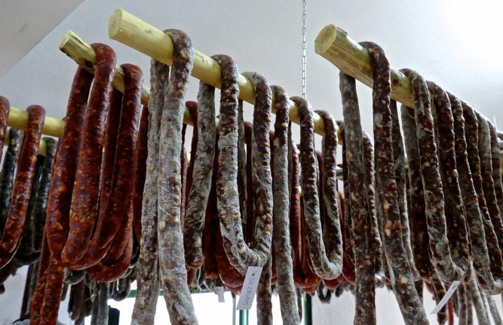 Salsiccia a campanella di fegato